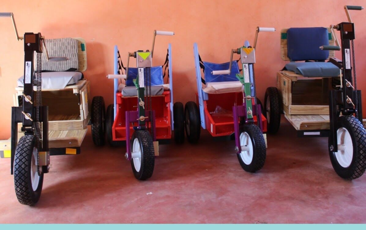 Wheelchairs shipped to Ethiopia - yeabemedical